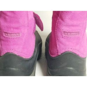 L.L. Bean Shoes - LL Bean Northwood Snow Winter Boots Kids 2